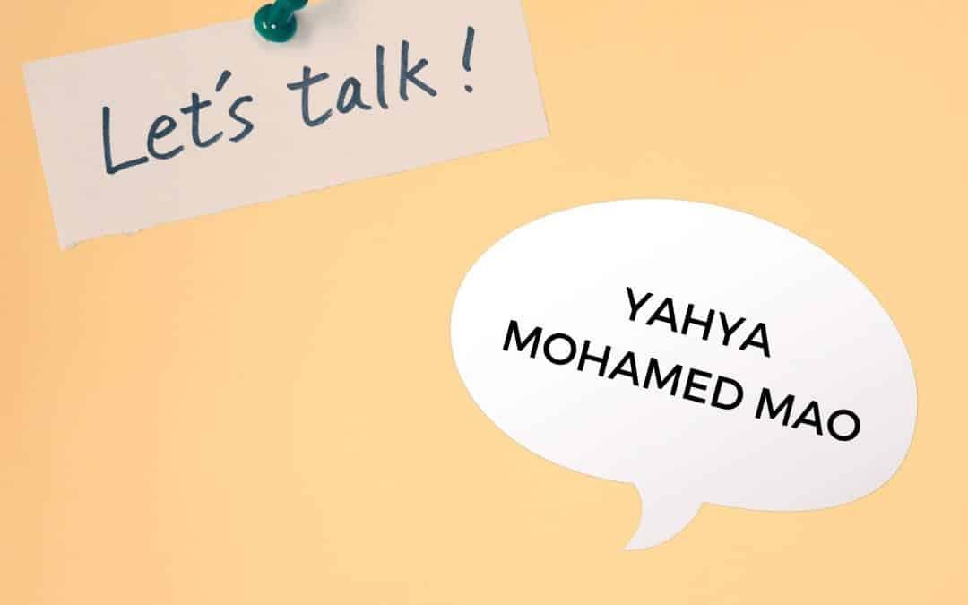 Experteninterview mit Yahya Mohamed Mao