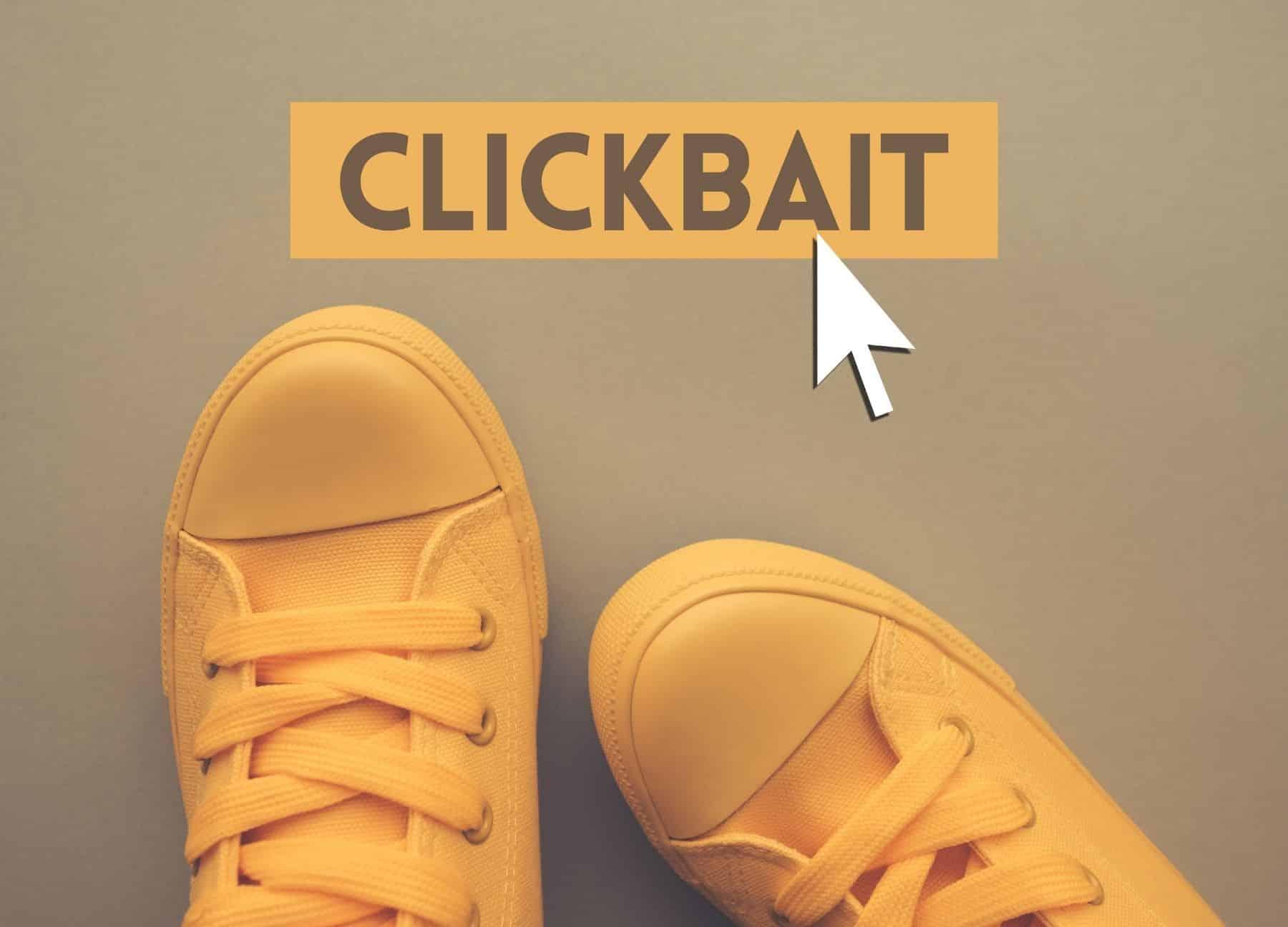 Positives Clickbait Marketing